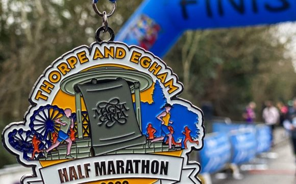Egham and Thorpe Half Marathon