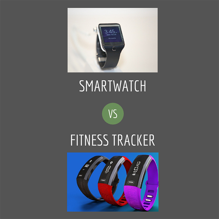 smartwatch vs fitness tracker
